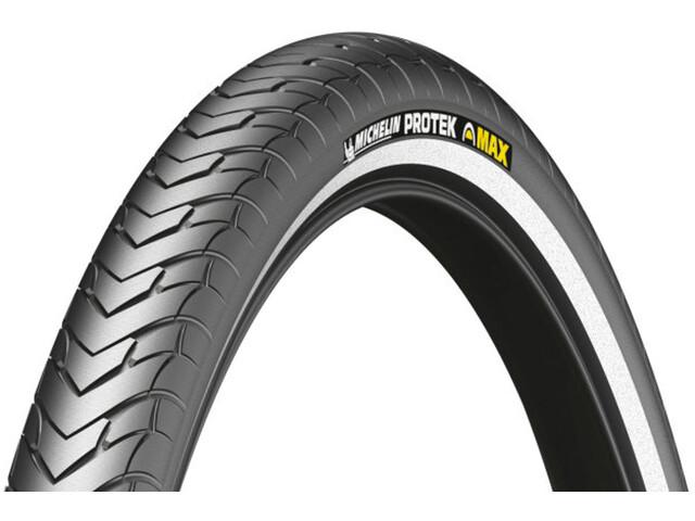 """Michelin Protek Max Copertone 28"""" filo metallico Reflex, black"""